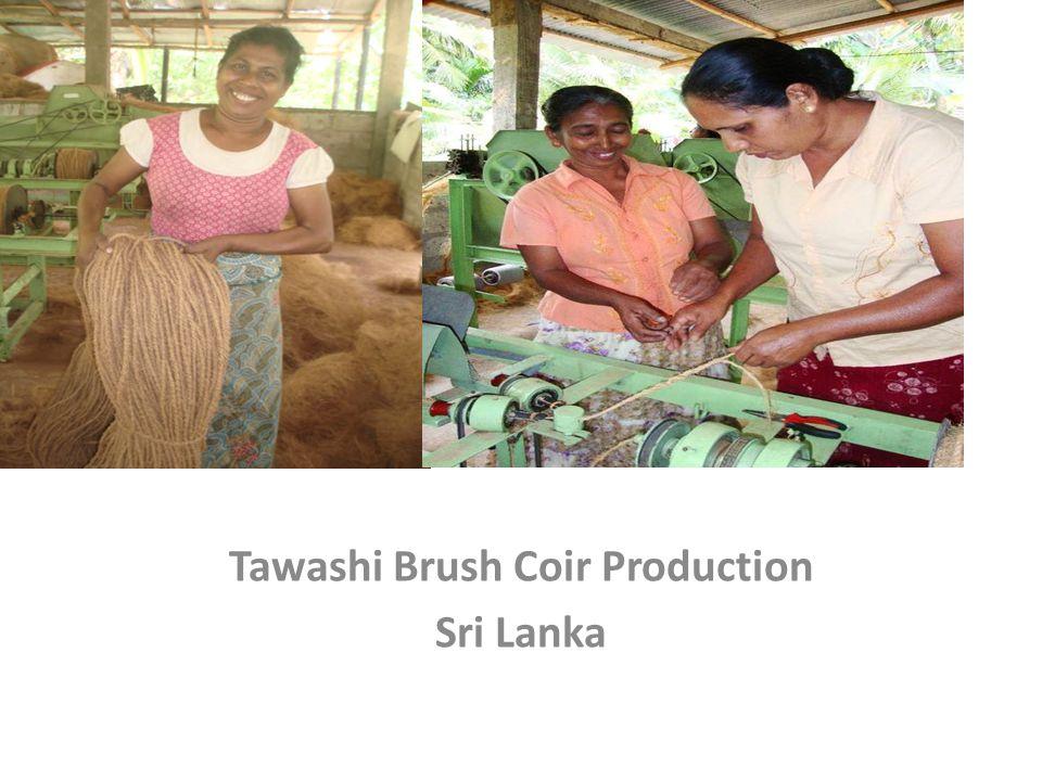 Tawashi Br Tawashi Brush Coir Production Sri Lanka