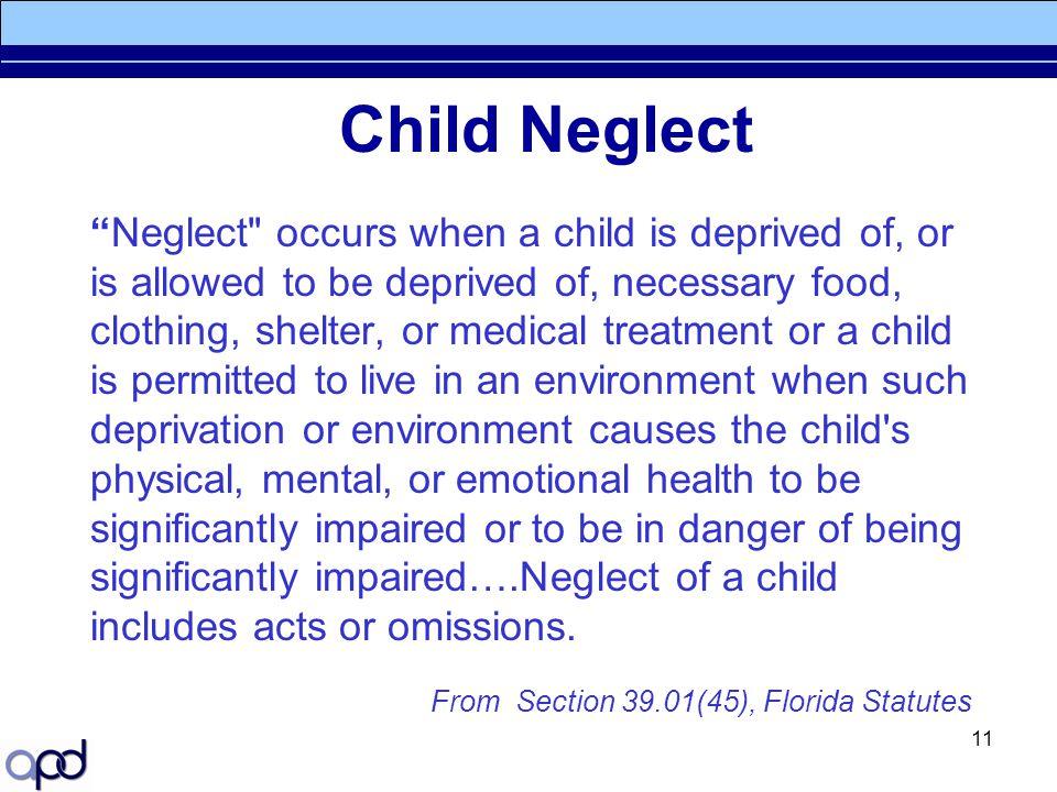 "11 Child Neglect ""Neglect"