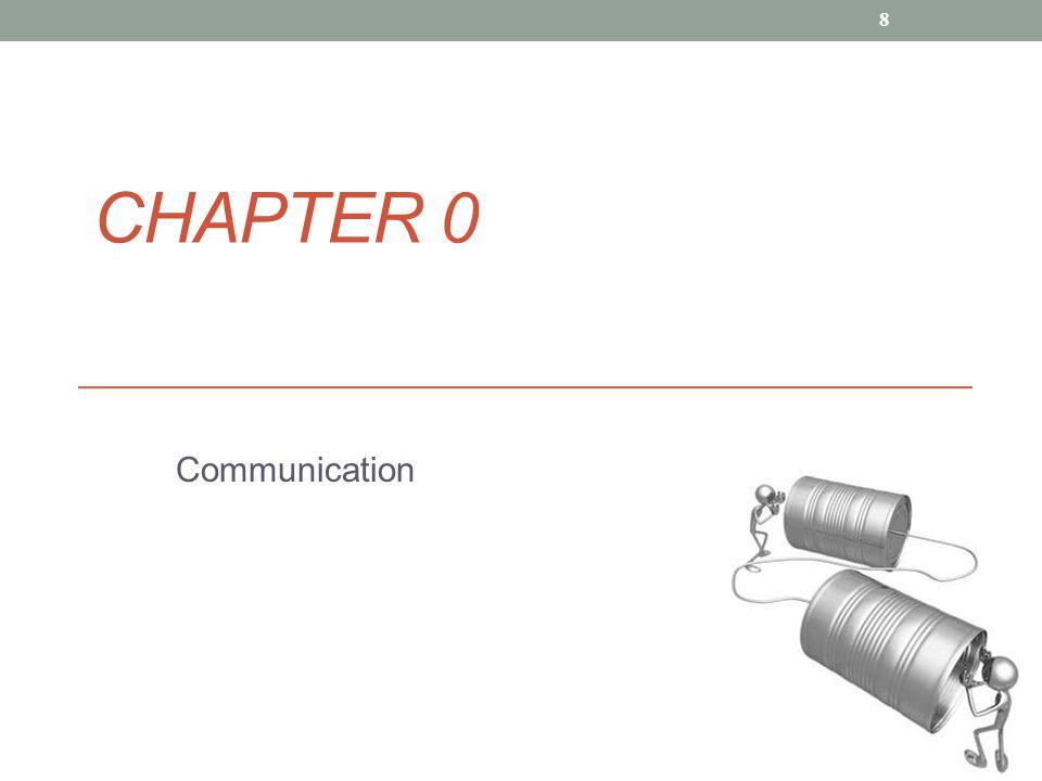 CHAPTER 0 Communication 8