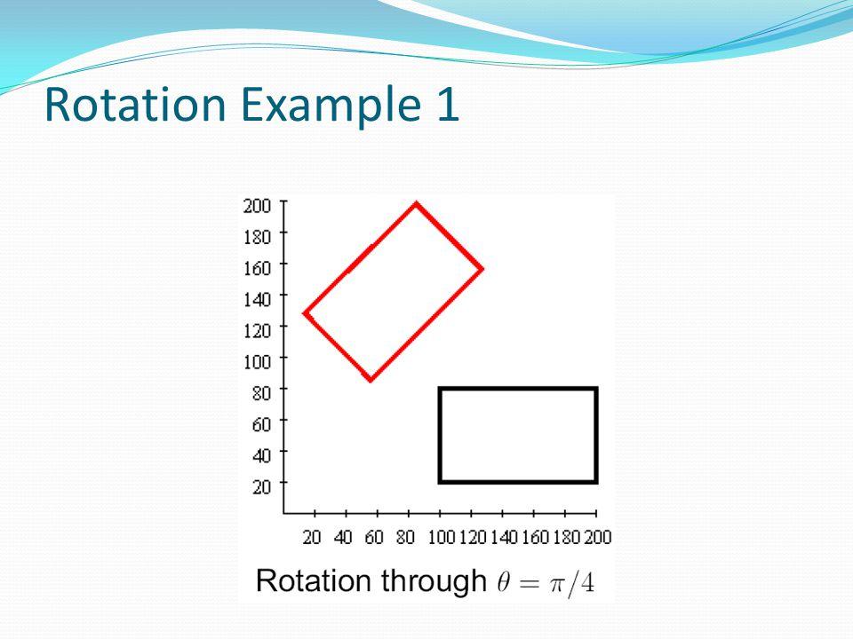 Rotation Example 1