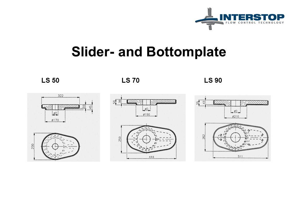 Slider- and Bottomplate LS 50LS 70LS 90