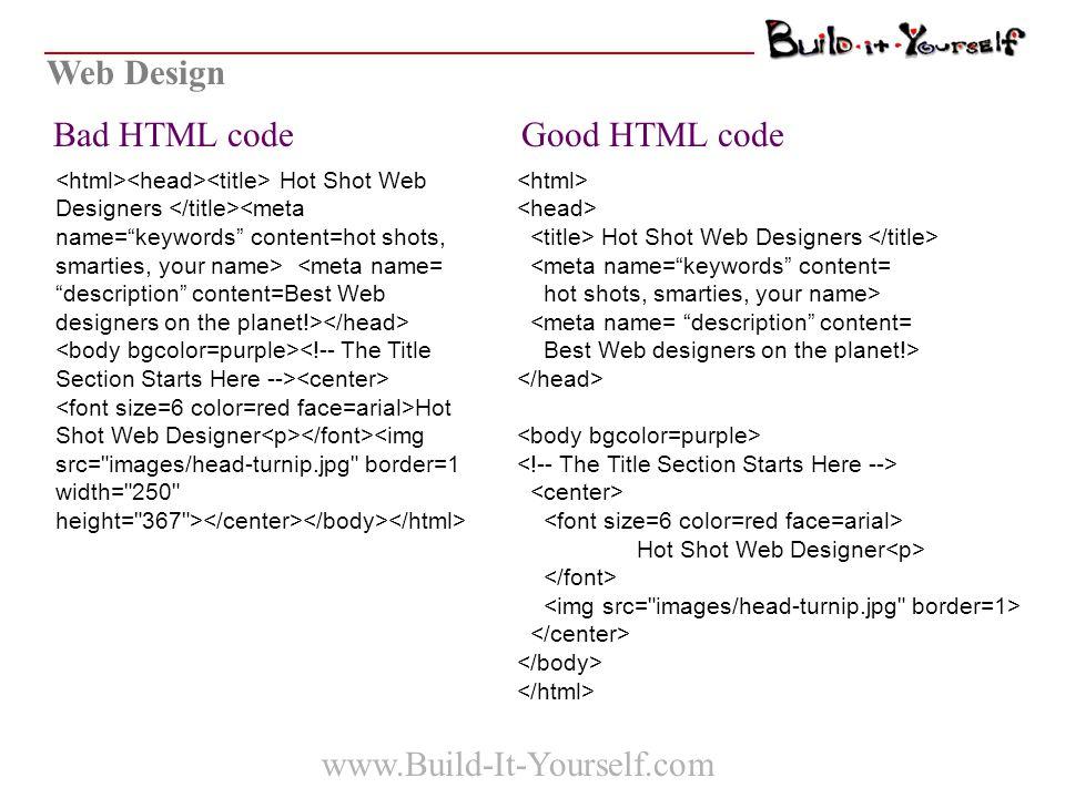 Web Design Hot Shot Web Designer