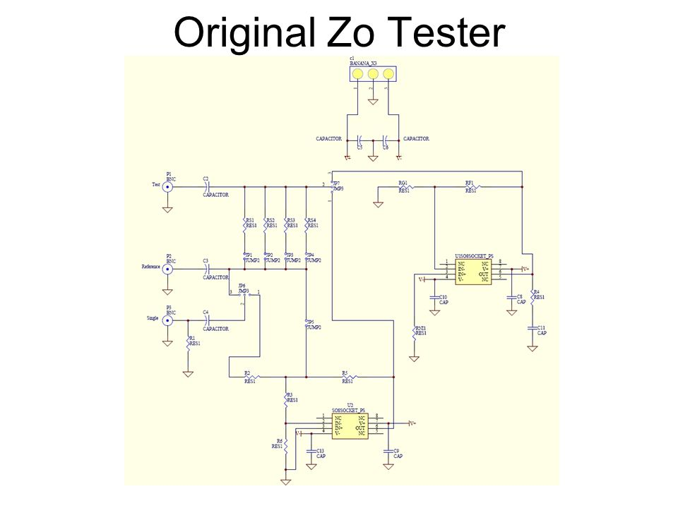Solution to Zout Limitation DUT not AC Coupled –AC Couple the Zout circuit with a 100uF Capacitor