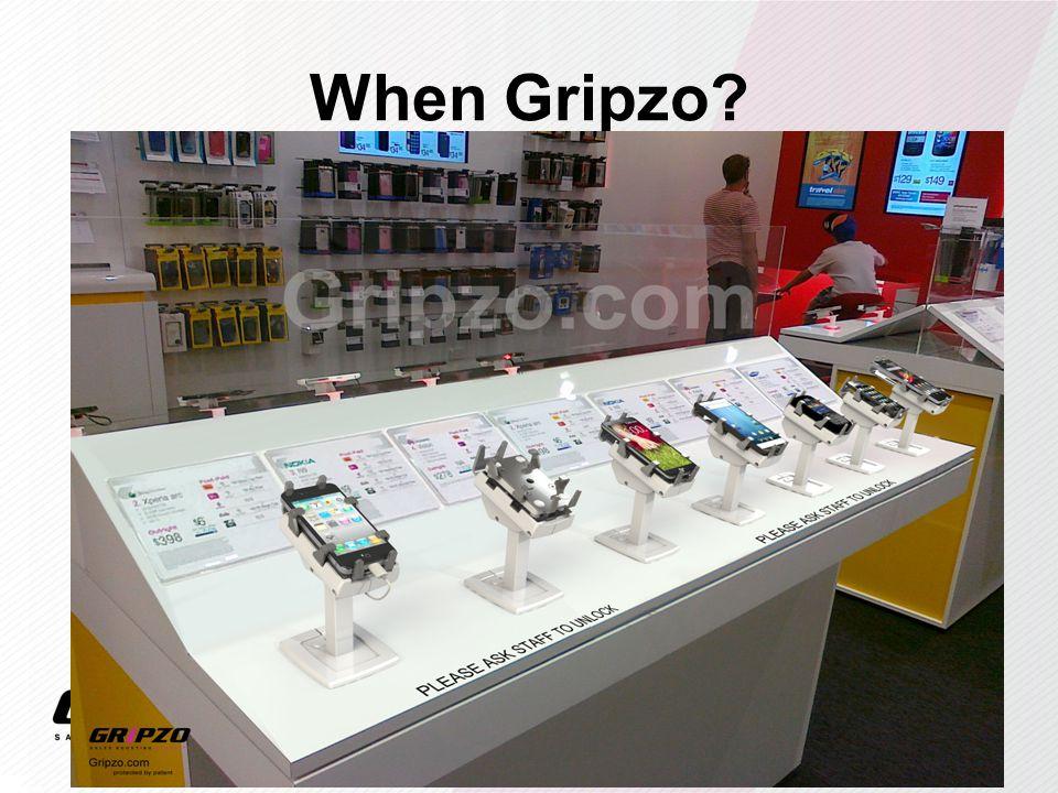 When Gripzo?