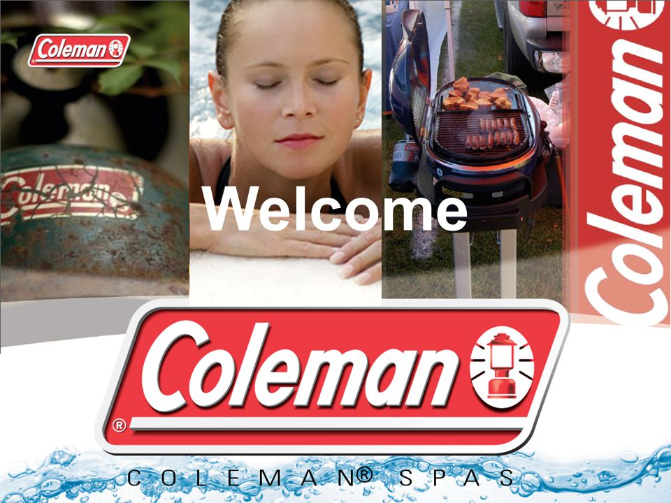 Coleman Spas ® Welcome