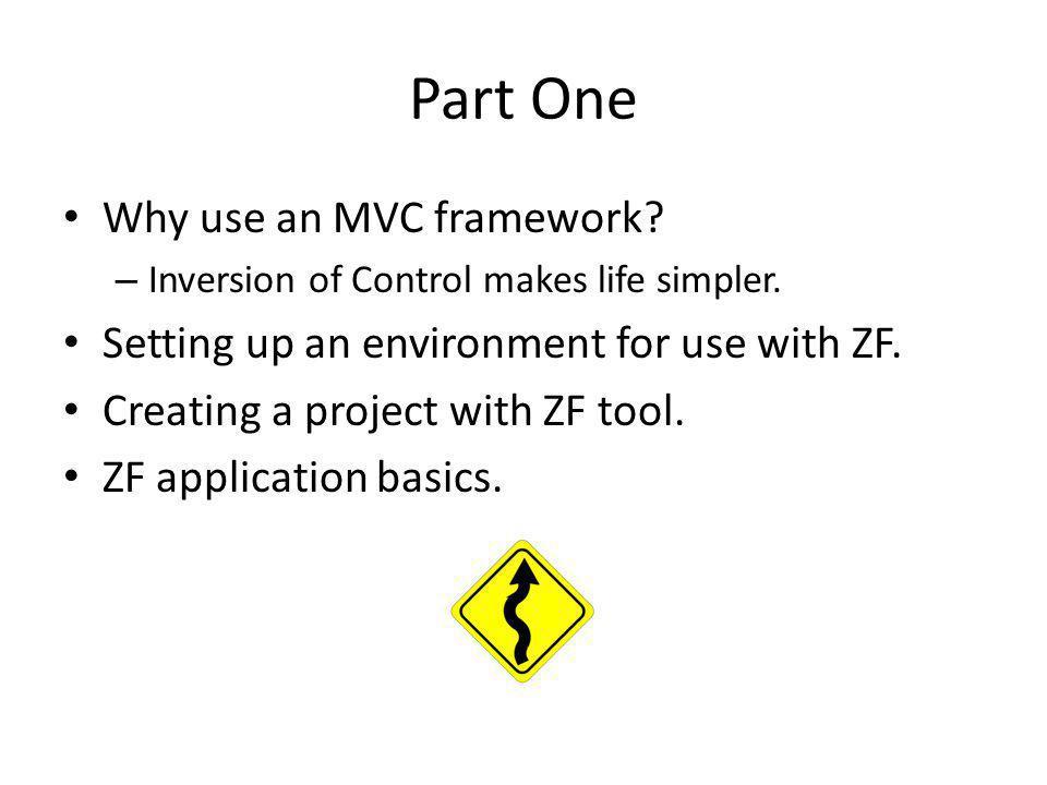 Why Use an MVC Framework.