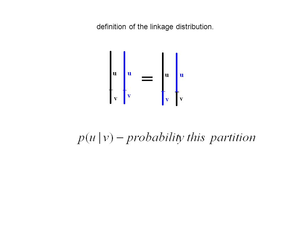definition of the linkage distribution.