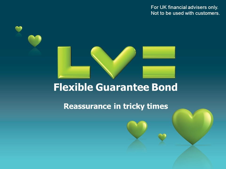 Contents an investment solution from LV= the basics optional guarantee investment choices about Threadneedle Investments averaging approach flexibility allocation rates transparent charging adviser support & commission mutual bonus LV= strong & stable For UK financial advisers only