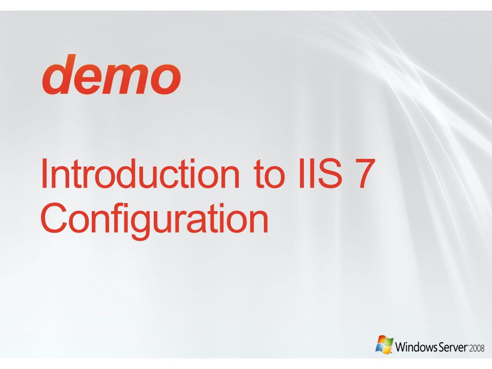 IIS7 Configuration System Root Web.config ASP.net global ApplicationHost.config IIS7 Global and Location settings Web.config Per Application.NETFramework.NETFramework ASP.NETASP.NET IIS7IIS7 IIS + ASP.NET +.NET Framework IIS + ASP.NET +.NET Framework ASP.NET +.NET Framework ASP.NET +.NET Framework Machine.config NET global