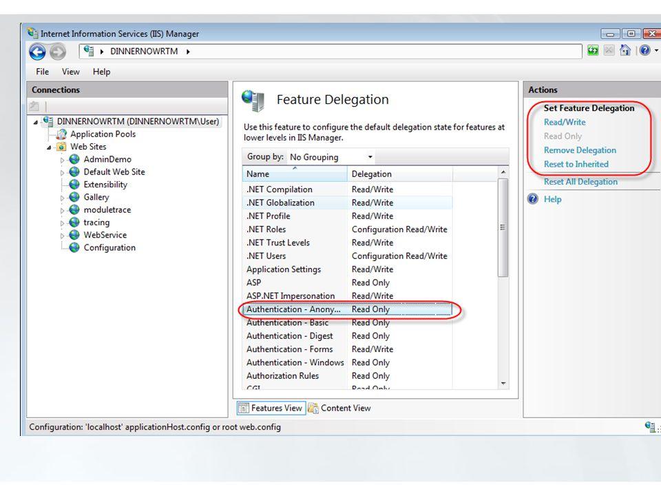 Locking Non-administrators can modify/override properties.
