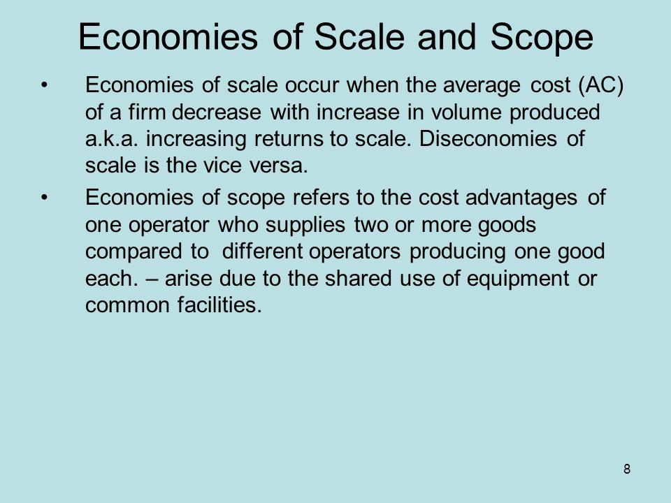 9 (Dis)economies of Scale Figure 2