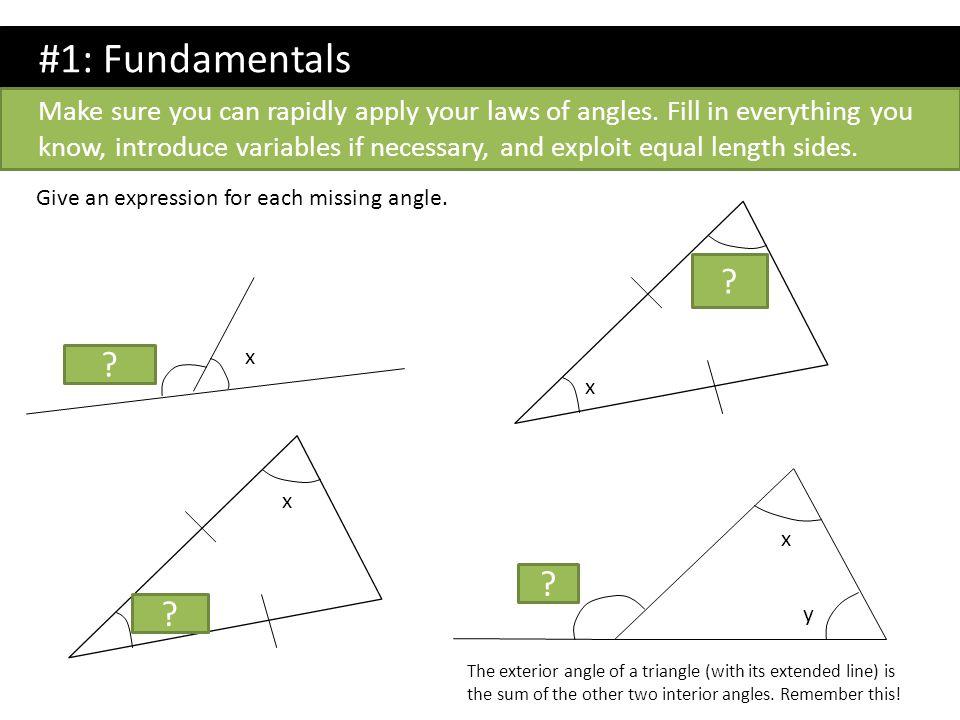 #4: Form an equation.