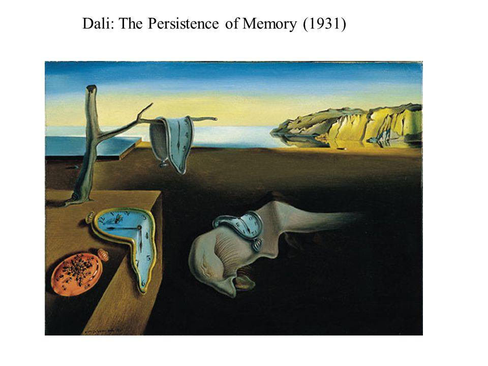 Dali: The Persistence of Memory (1931)