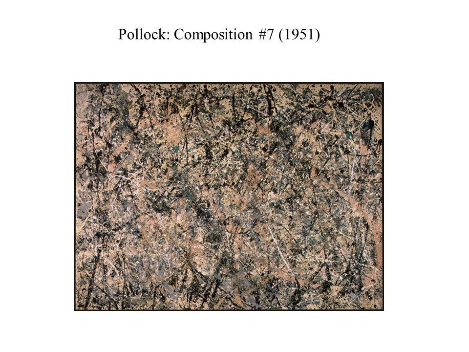 Pollock: Composition #7 (1951)