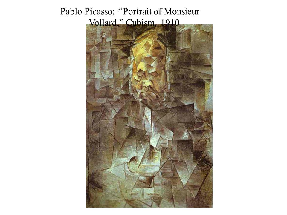 Pablo Picasso: Portrait of Monsieur Vollard, Cubism, 1910