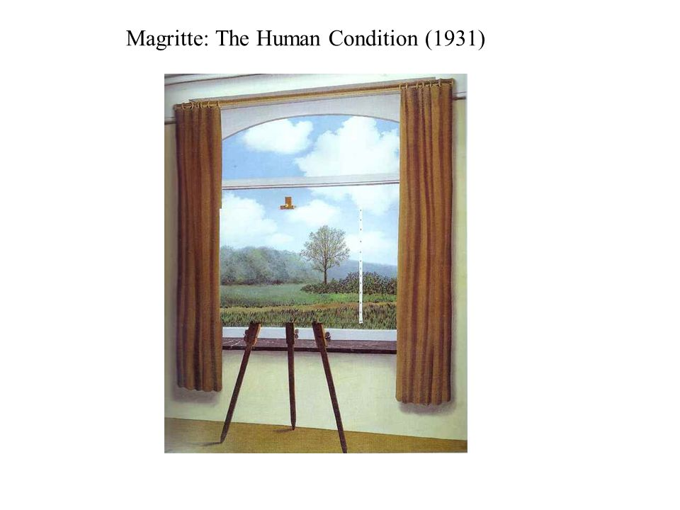 Magritte: The Human Condition (1931)