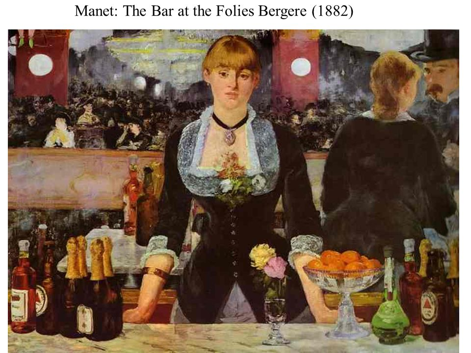 Manet: The Bar at the Folies Bergere (1882)