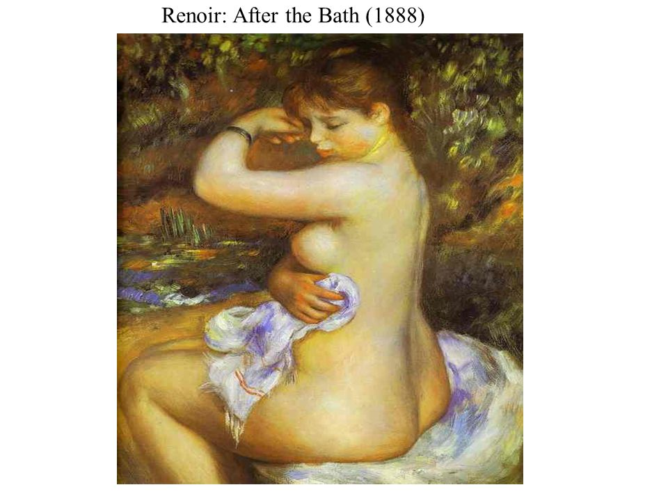 Renoir: After the Bath (1888)