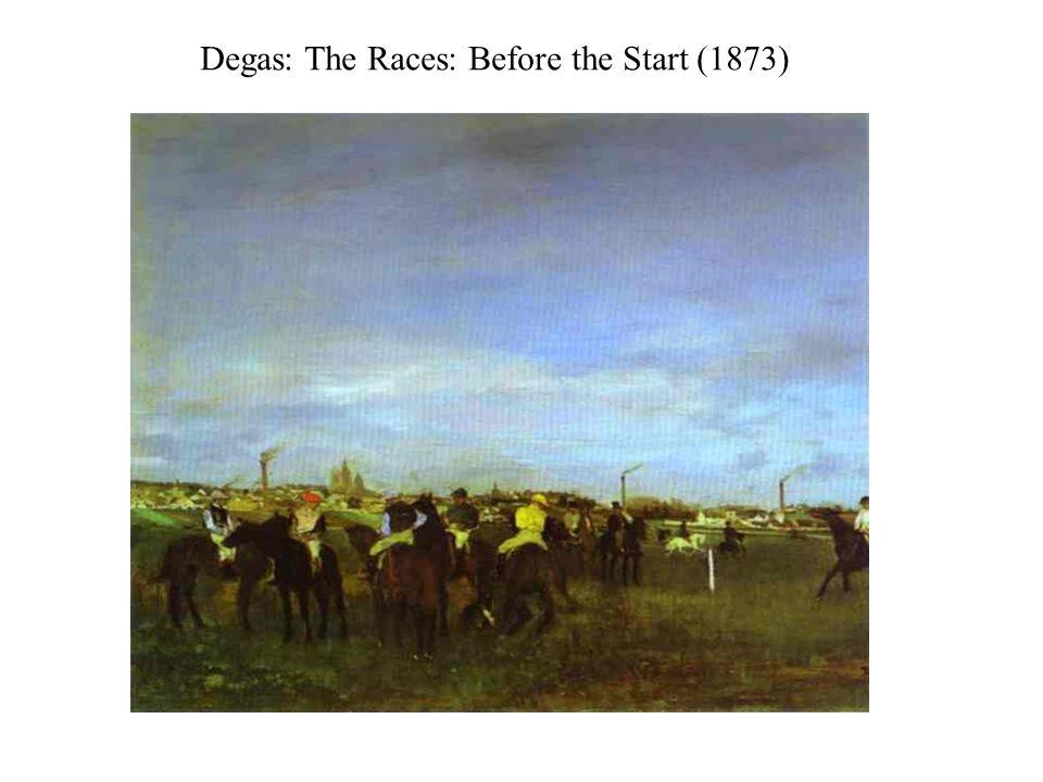 Degas: The Dancing Examination (1874)