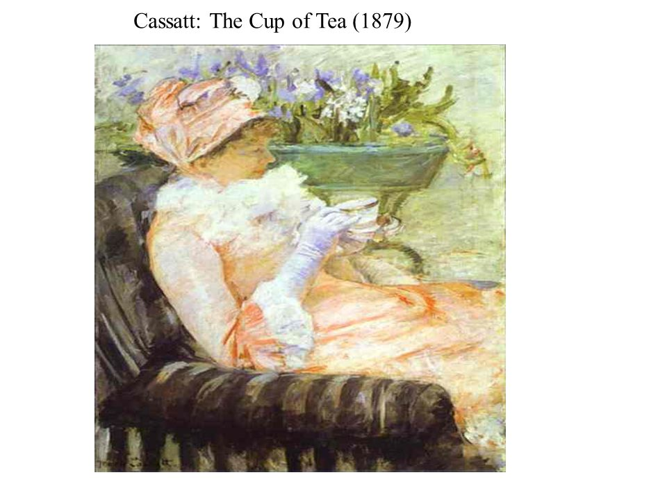 Cassatt: The Cup of Tea (1879)