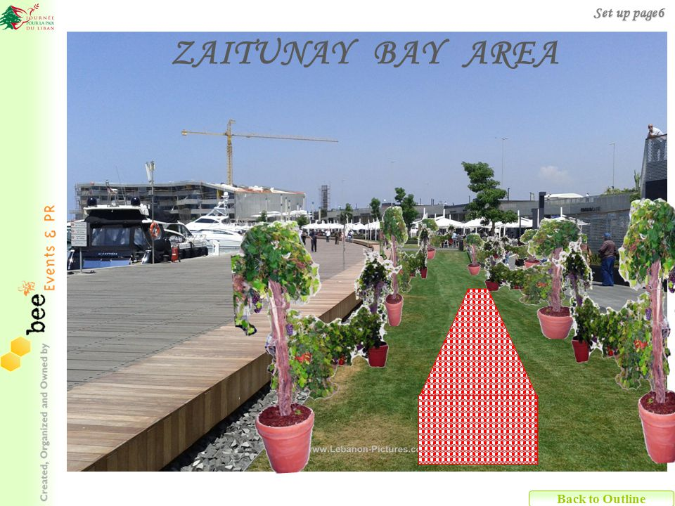 Back to Outline ZAITUNAY BAY AREA Set up page6