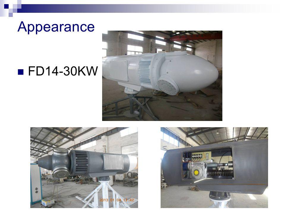Appearance FD14-30KW