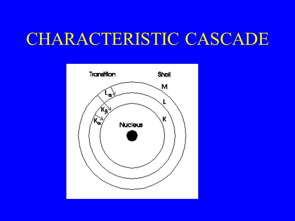 CHARACTERISTIC CASCADE