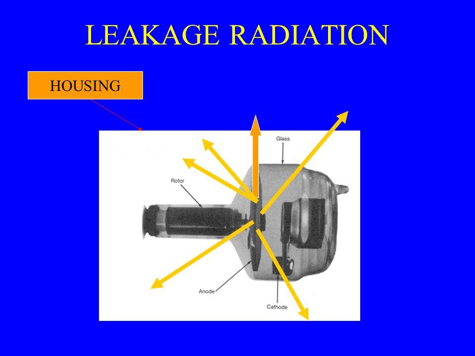 LEAKAGE RADIATION HOUSING