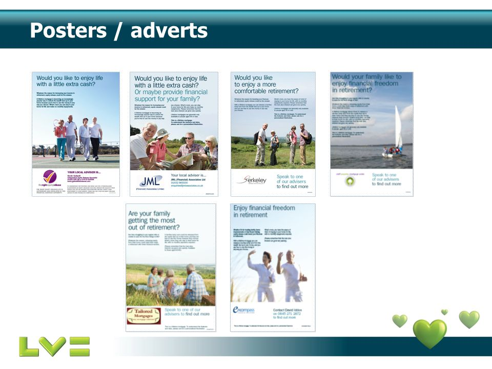 Posters / adverts