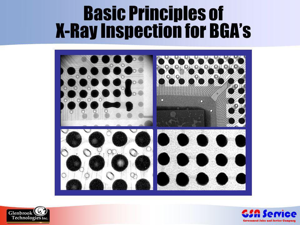 Basic Principles of X-Ray Inspection for BGA's