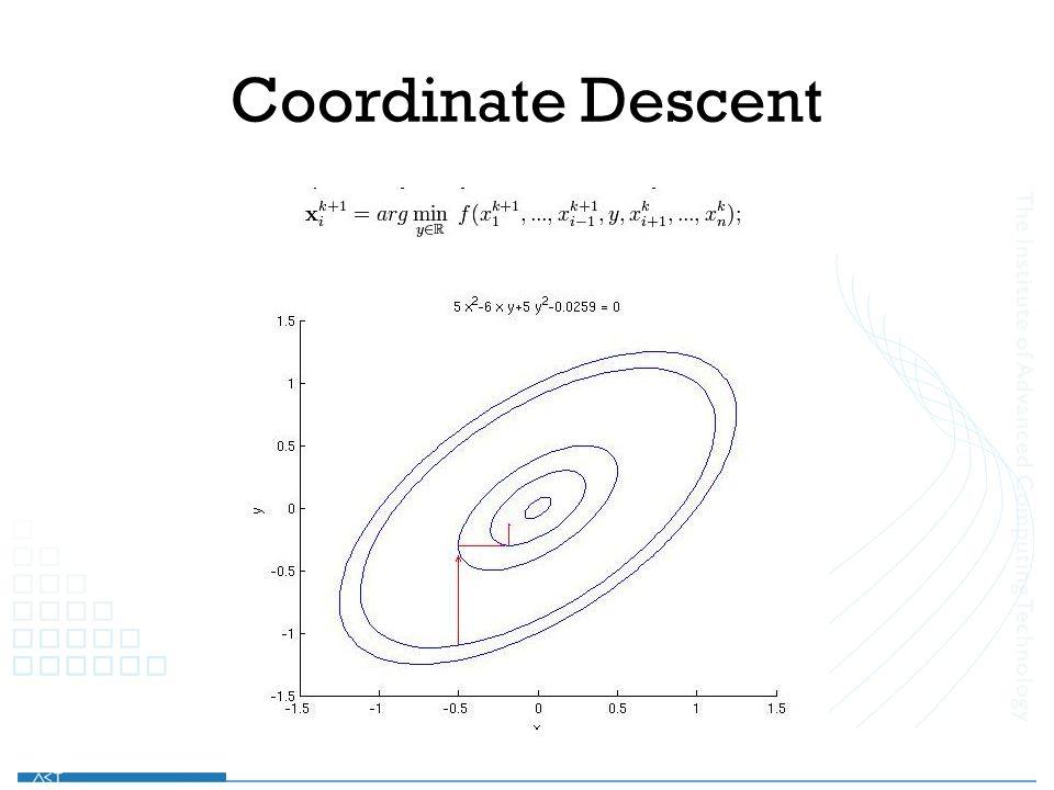 Coordinate Descent