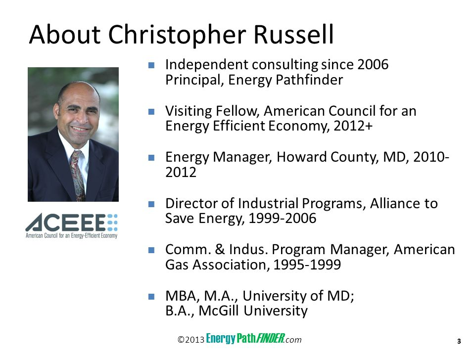 About Christopher Russell, C.E.M., C.R.M.