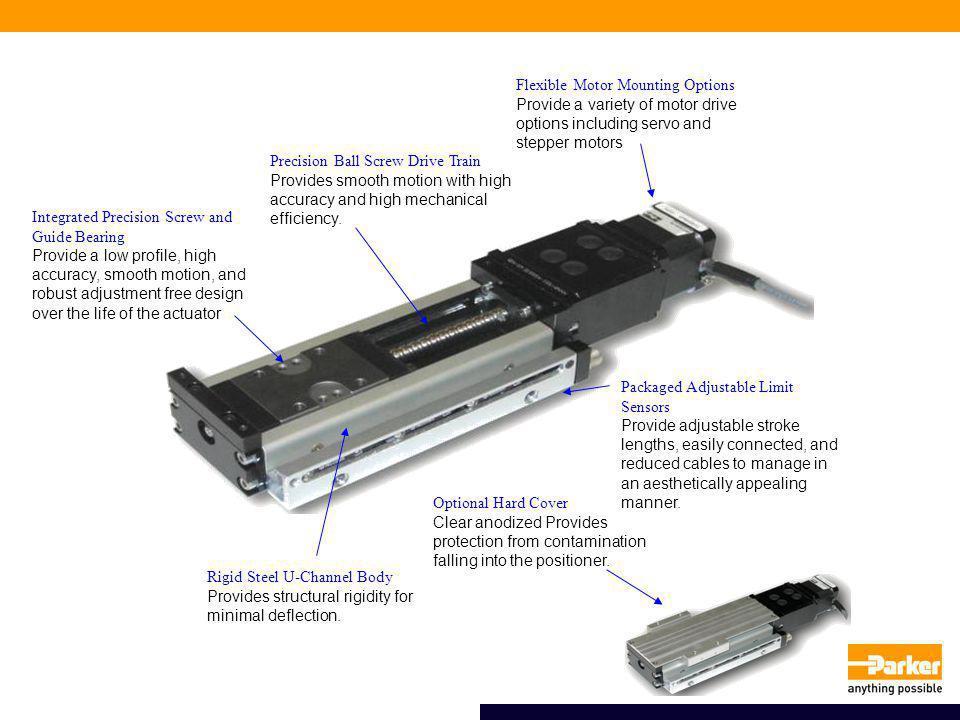 Rigid Steel U-Channel Body Provides structural rigidity for minimal deflection.