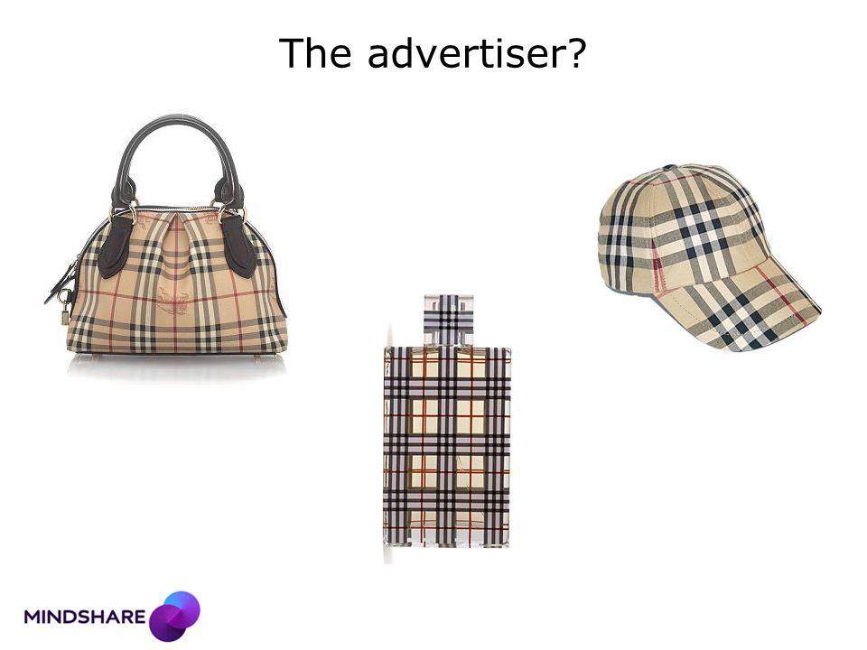 The advertiser?