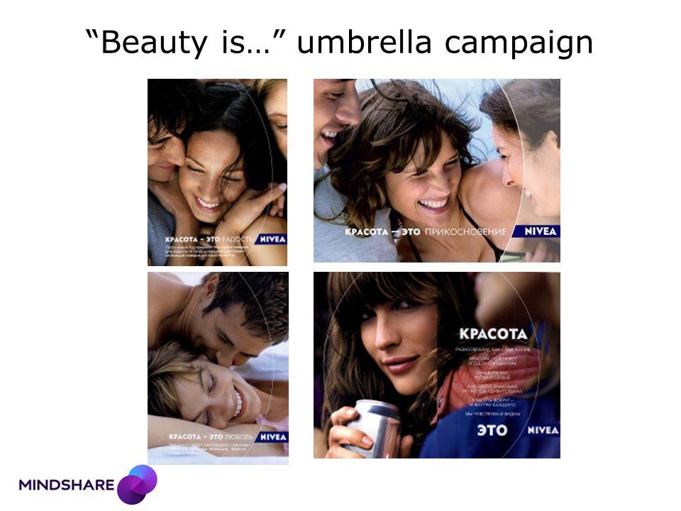 """Beauty is…"" umbrella campaign"