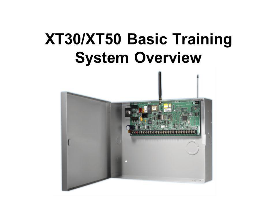 XT30/XT50 Basic Training System Overview