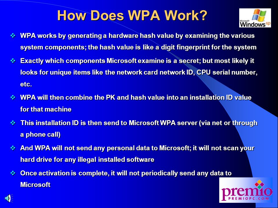 How Does WPA Work.