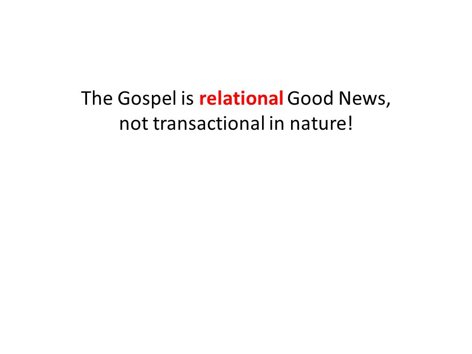 The Gospel is the power of God for those who believe: 1.Christ delivered me from the penalty of sin 2.The Spirit empowers me to overcome sin 3.The Father promises an inheritance for me that is better than anything in this world