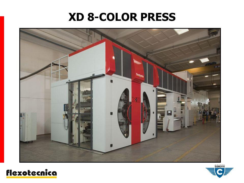 XD 8-COLOR PRESS
