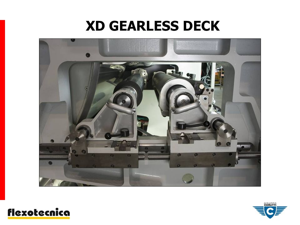 XD GEARLESS DECK