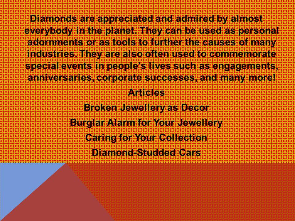IMPORTANCE OF DIAMOND