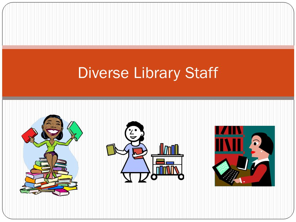 Diverse Library Staff