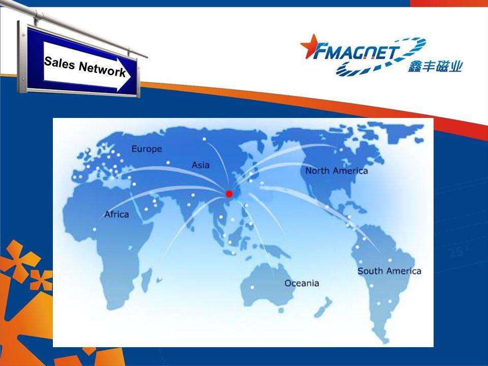 Trade area Sales Network