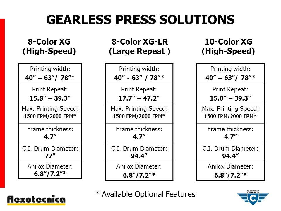 XG 10-COLOR PRESS