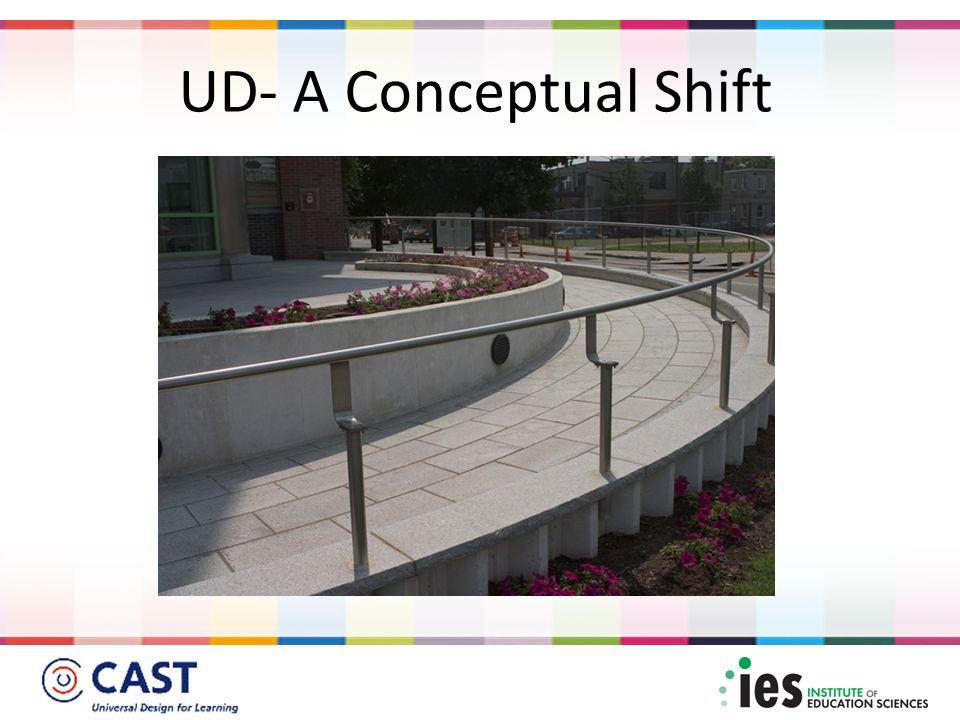 UD- A Conceptual Shift