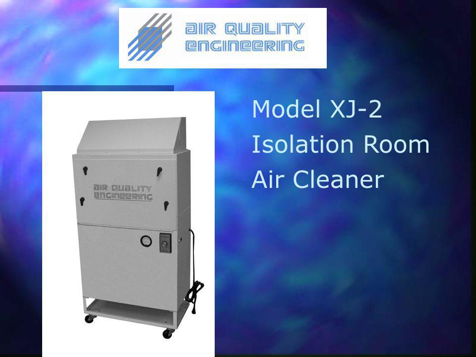 Model XJ-2 Isolation Room Air Cleaner