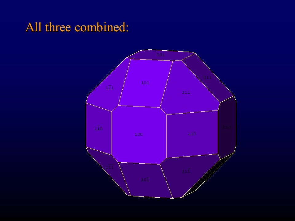 Octahedron to Cube to Dodecahedron Click on image to run animation