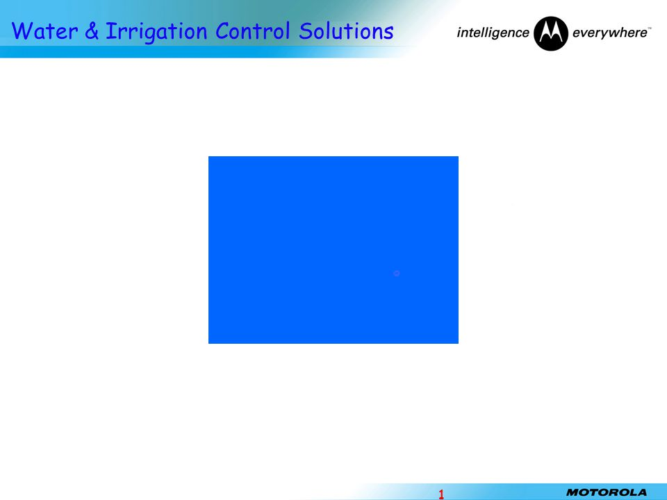 Water & Irrigation Control Solutions 1