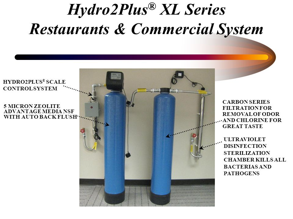 Hydro2Plus ® System Is dedicated to improving water quality WITHOUT the need for using salt.