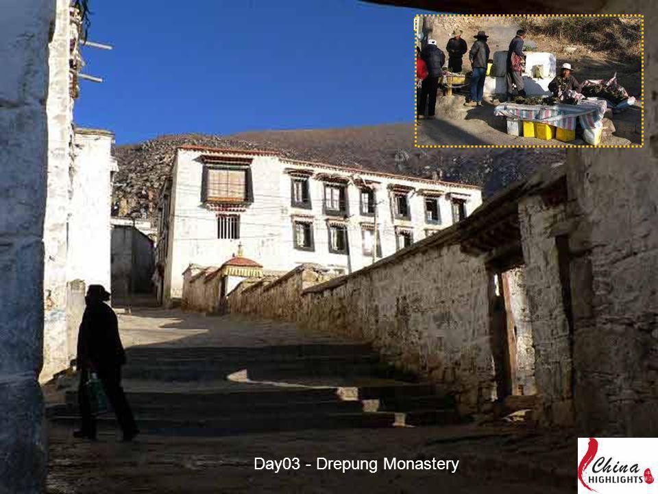 Day03 - Drepung Monastery
